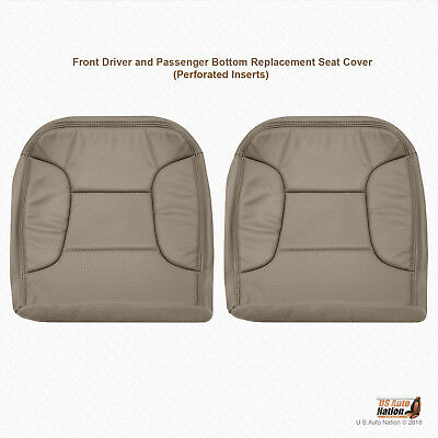 1992 - 1996 Ford Bronco Eddie Bauer DRIVER-PASSENGER Bottom Synth Leather Cover