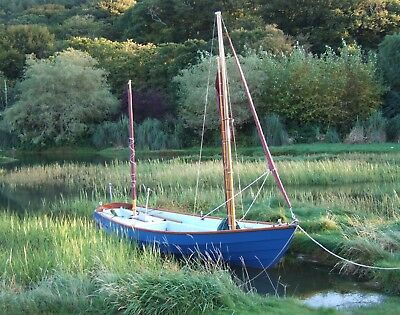 Drascombe Lugger classic sailing boat