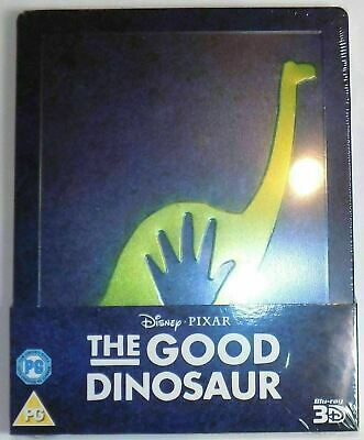 The Good Dinosaur 3D - Limited Edition Steelbook [Blu-ray 3D + Blu-ray] New!!