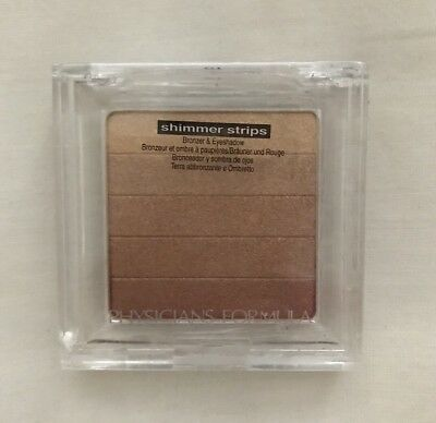 PHYSICIANS FORMULA SHIMMER STRIPS Bronzer, Blush and Eyeshadow 2456E 8.5g