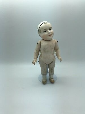 Antique miniature Limbach Porcelain Doll,  bisque doll from Germany/Thüringen