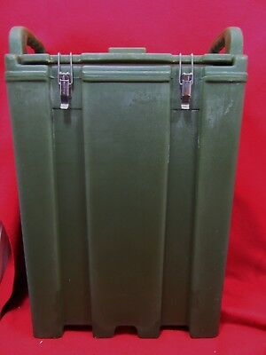 Silite Insulated Drink Dispenser 4.5 Gal LD500 Hot/Cold Handles Green