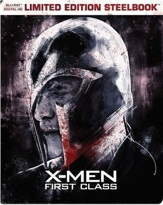 X-Men - First Class - Limited Edition Steelbook [Blu-ray] New and Sealed!!
