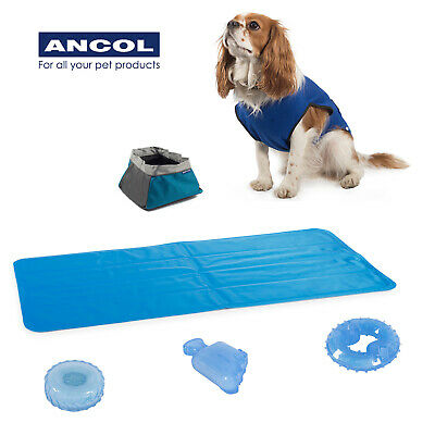 Ancol Cooling Mat Coat Vest Portable Drinking Bowl Hot Weather