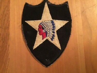 Ww2 Us Army 2Nd Infantry Division Patch