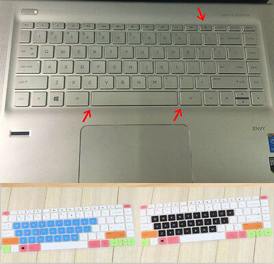 Keyboard Cover Protector for H P Spectre X360 15-AP011DX 15-AP012DX US Version