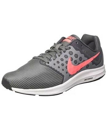 1d099d84f33 Nike Downshifter 7 Running Shoes 852466-001 Cool Grey Lava White Womens Sz  11