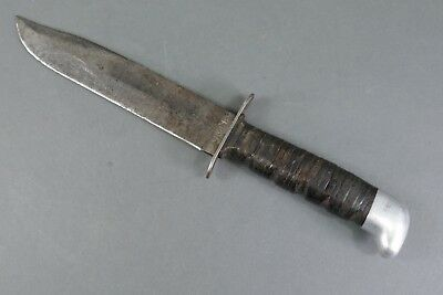 WWII USN US Navy Trench Fighting Combat Knife Camillus