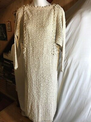 Vintage Pallas Original Hand Loomed Women Dress size S Made in The Rep. Ireland