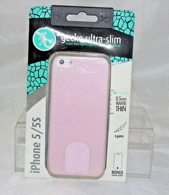 Genuine Gecko Ultra-Slim  Wafer Thin Lightweight Protection For iPhone 5/5S