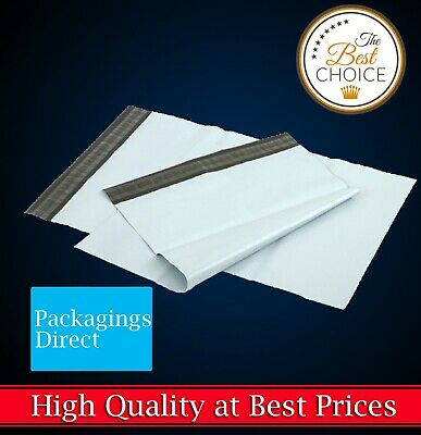 Poly Mailer Plastic Mailing Satchel - Quality Self Sealing Shipping Courier Bag