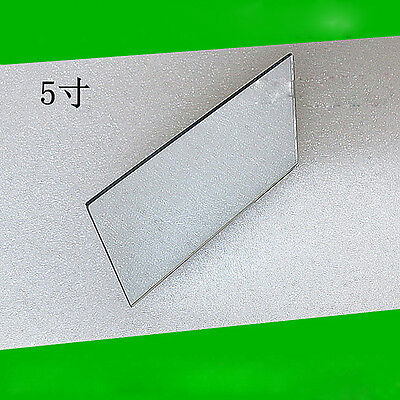2PCS 125x77x2mm Mini Projector Reflector Mirror DIY High Reflectivity lens
