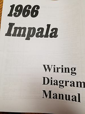 66 1966 chevy impala belair biscayne caprice clear park light turn  new 1966 chevy impala, belair or biscayne wiring diagram manual *free shipping*