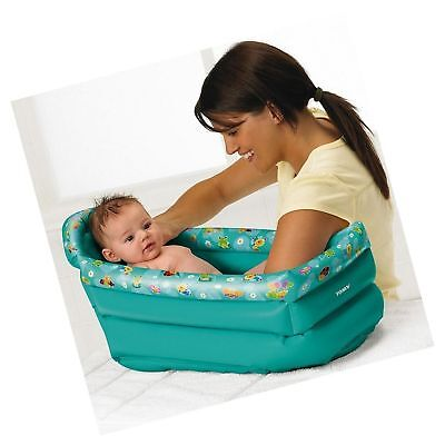 Tomy Be Baby Inflatable Travel Bath On The Go Holiday Bathe Child Tot Blow Up