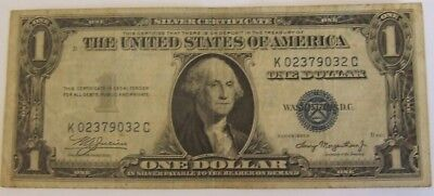 Us One Dollar Banknote Series 1936 In Circulated Condition
