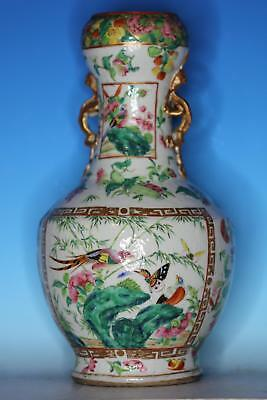 Large 19Th C Chinese Export Porcelain Antique Vase
