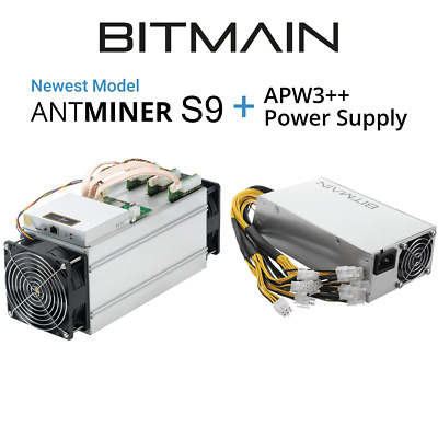 ANTMINER S9 IN HAND bitmain antminer s9 Jan 2018 Batch with APW PSU AUSTRALIA