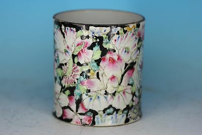 Perfect Chinese Famille Rose Porcelain Antique Brushpot
