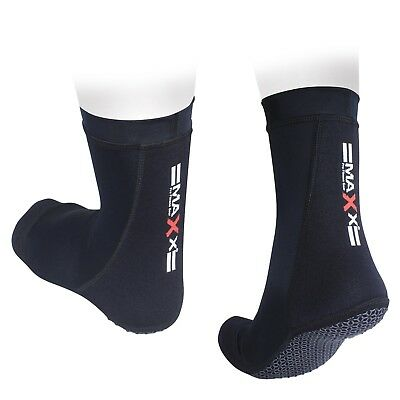 Maxx MMA Grip Training Fight Socks Boxing Foot Braces Ankle Shoes Guard Black SK
