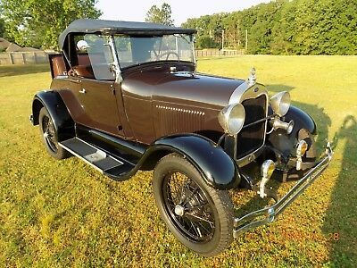 1928 Ford Model A  1928 Roadster - Matching number car in super shape