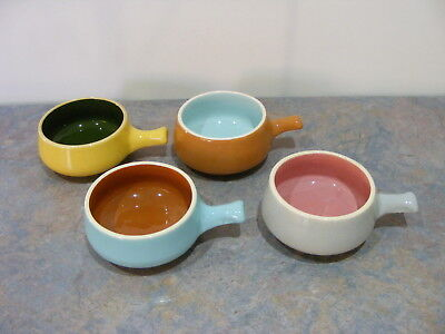 """Vintage Signed """"Guy Boyd"""" Small Pottery Ramikins"""