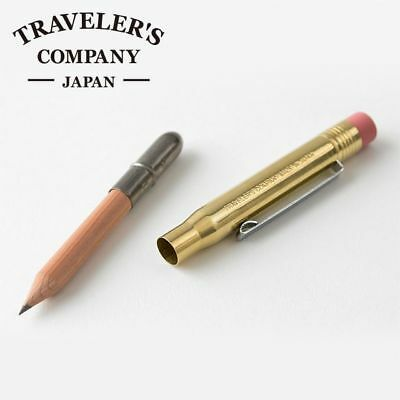 Traveler's company Brass Pencil Japan [NEW] Compactly MP Nice Design MIDORI