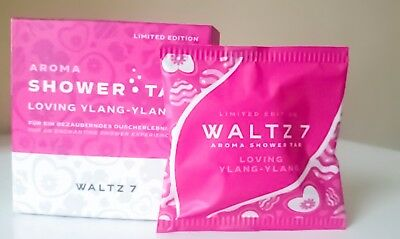 WALTZ7 Aroma Shower Tab Waltz 7 Loving Ylang Ylang Limited Love Edition Duschtab