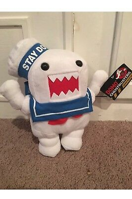 """GHOSTBUSTERS DOMO STAY PUFT MARSHMALLOW MAN  Plush 11""""day Ship Sm"""
