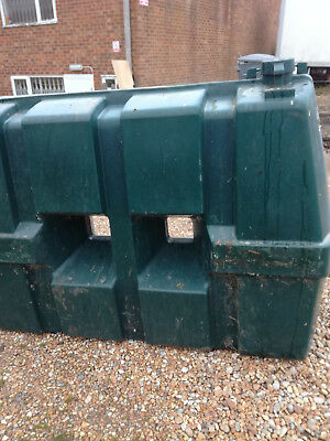 Heating oil tank 1200 litres pre owned