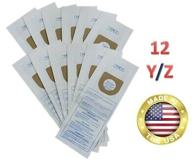 Hoover Type Y/Z Vacuum Bags 10pk Microfiltration 2 Ply System FEBREZE Scented !!