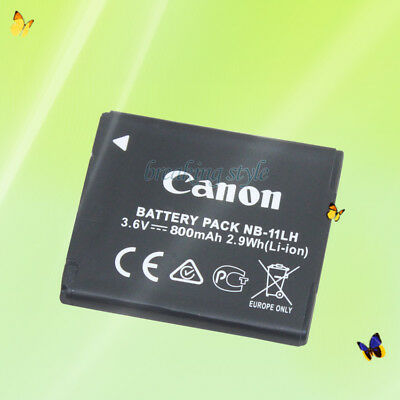 New Replacement Battery For Canon NB-11LH NB11L CB-2LDE/2LFE A4000 A3500 NB11LH