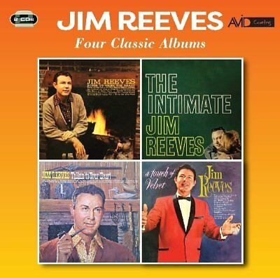 Jim Reeves - Four Classic Albums  2 Cd Neuf