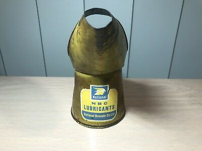 Rare Vintage 1960 National Half Pint Oil Can Pourer