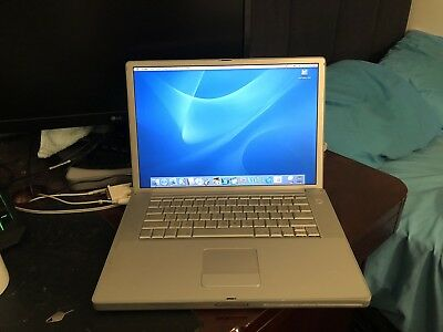 Apple PowerBook G4, 1 GB RAM, 1.25 GHz, 2003