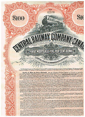 Central Railway Co. of Canada, 1914, COX CEN-056-B-40