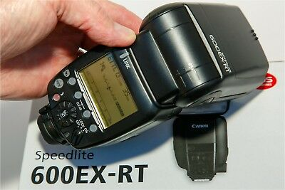 Canon Speedlite 600EX-RT Shoe Mount Flash - Works Perfectly - FREE EXPRESS POST