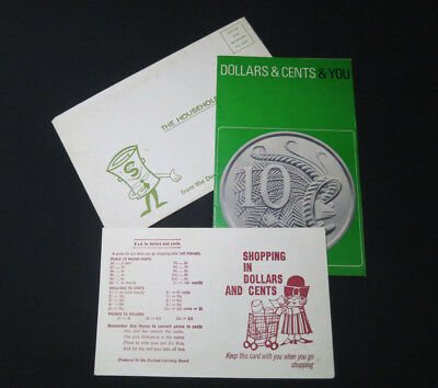 Vintage Letter to Household from Decimal Currency Board 1966