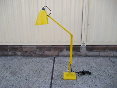 YELLOW Planet DESK Lamp Studio K Eames era Retro Vintage Industrial Light Archit