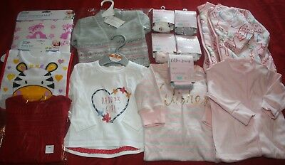 Baby Girl's 0 - 3 Months NEW Clothing Bundle - including NEXT - FREE POST