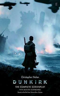 Dunkirk by Christopher Nolan Paperback Book Free Shipping!