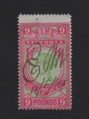 9 Pound - Fiscal Used - Apple Green and Rosine 1888
