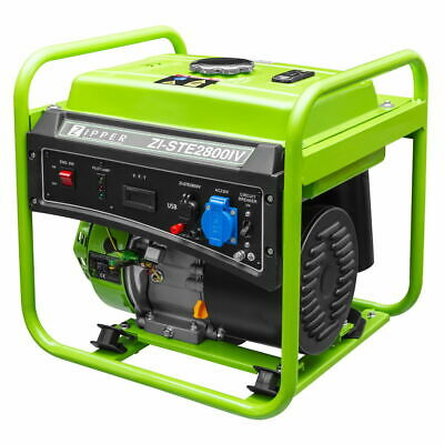 Generador Electrico Gasolina 230V 2800W ZIPPER ZI-STE2800IV Inverter  Pc Movil..