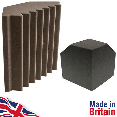 Bass Traps 300mm SoundFix High Performance Studio Acoustic Foam & Corner Cubes