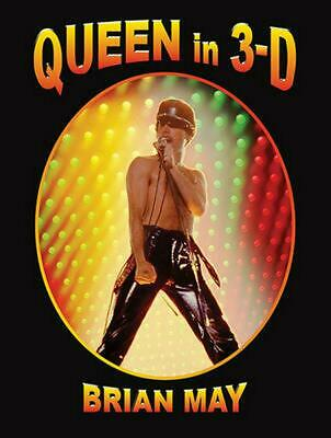 Queen in 3d by Brian May Hardcover Book Free Shipping!