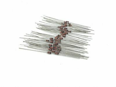 50pcs DO-35 Zener Diode BZX55C18 18V 1/2W 0.5W ship in USA
