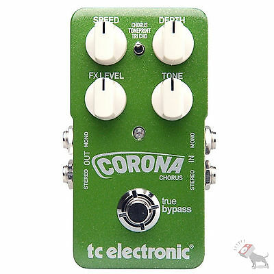 TC Electronic Corona Stereo Chorus Guitar Effects Pedal FX
