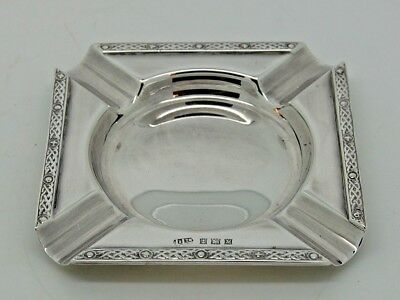 Antique Silver Ash tray Birmingham 1961 –  Lanson Ltd