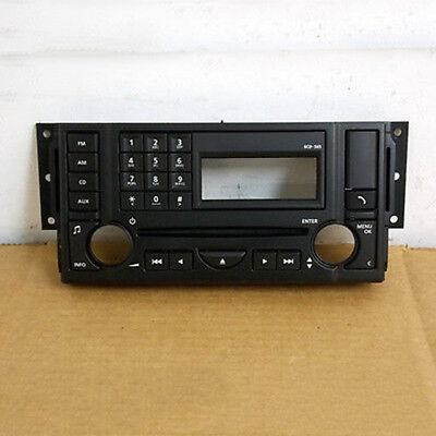 For Land Rover Range Rover Sport 2008-2009 LR019967 CD Player Panel 6 CDS