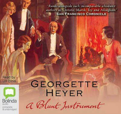 A Blunt Instrument by Georgette Heyer Compact Disc Book Free Shipping!
