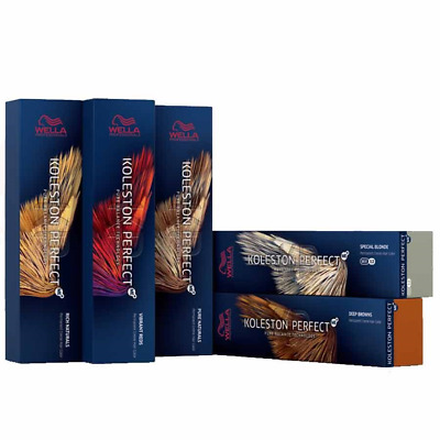 Wellla Color Perfect Permanent Colour Dye Hair color-Special Blonde Range 60ml